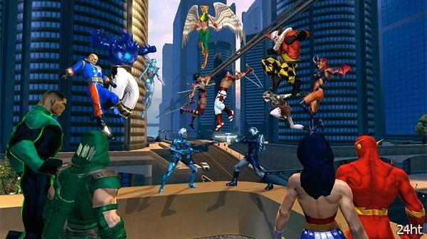 1 ноября ММО-игра DC Universe Online станет бесплатной