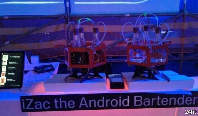 Автоматический бармен под управлением Android (видео)