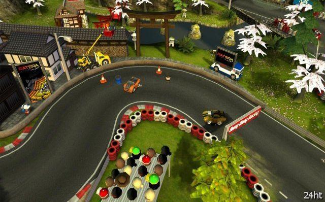 Bang Bang Racing – сенсорные гонки с отличной графикой
