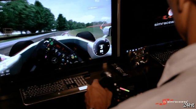 Беспроводной руль для автосимулятора (2 фото + видео)
