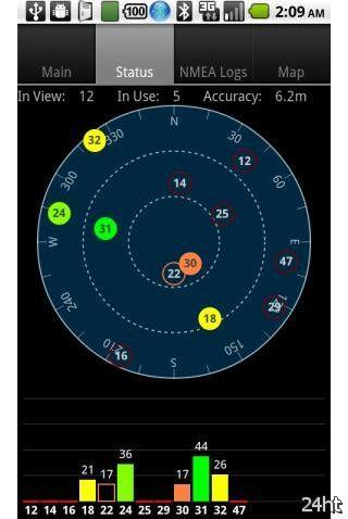 Bluetooth GPS 0.7.2 - Подключение внешних GPS приемников