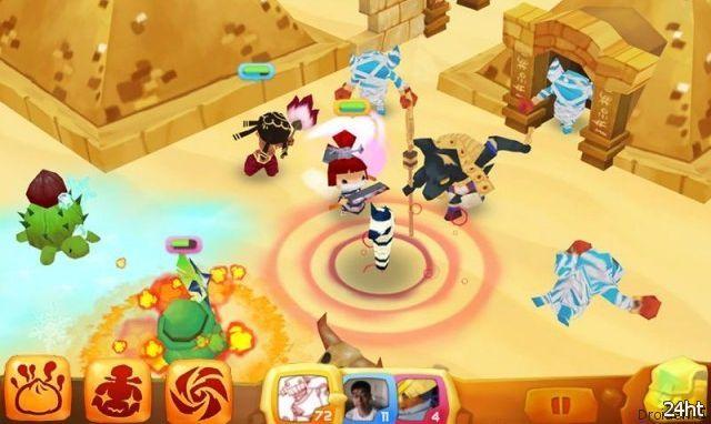 Buddy Rush – мультиплатформенная онлайн RPG