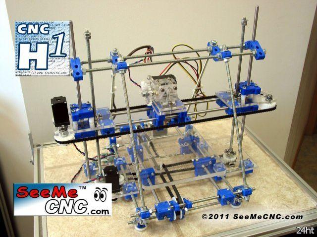 Бюджетный 3D-принтер - SeeMeCNC Н-1 (видео)