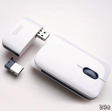 EZmouse - беспроводная мышь со съёмным аккумулятором (3 фото)