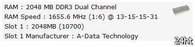 Еще один рекорд за AMD Bulldozer: память DDR3 разогнана до 3311 МГц