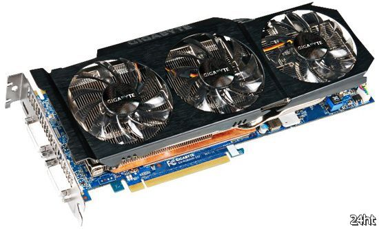 GIGABYTE GeForce GTX 580 с технологией Ultra Durable VGA+