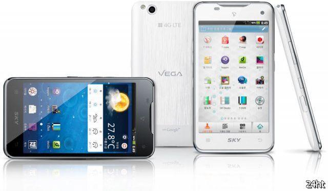 Pantech Vega - смартфон с жестовым управлением (видео)