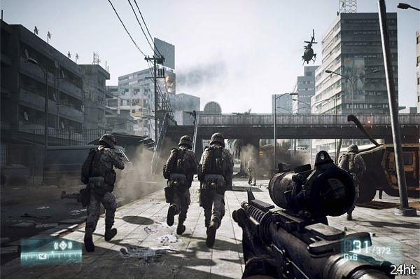 Первое место британского чарта досталось шутеру Battlefield 3