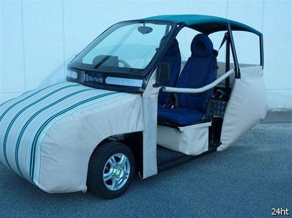 Самый безопасный электромобиль, «одетый» в подушки безопасности