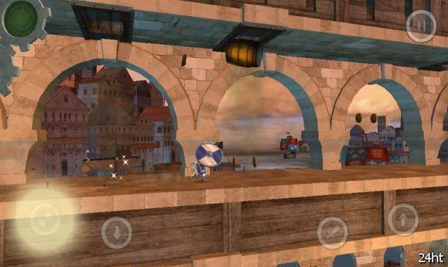 Wind-Up Knight – заводной рыцарь в 3D