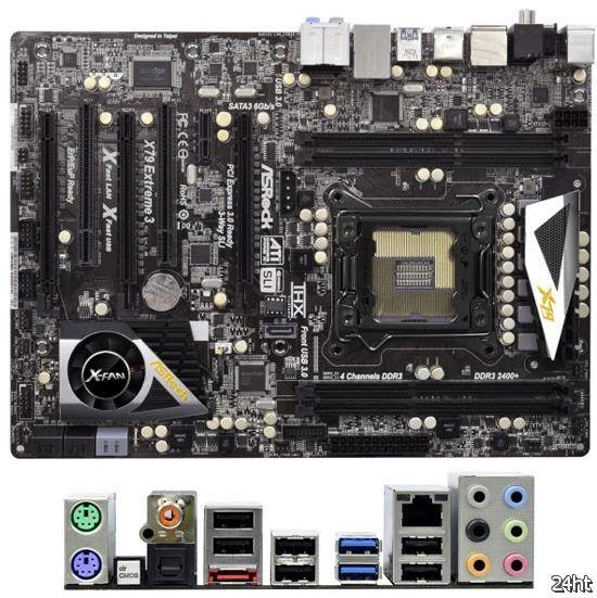 X79 Extreme3 – пятая плата ASRock под Socket LGA2011