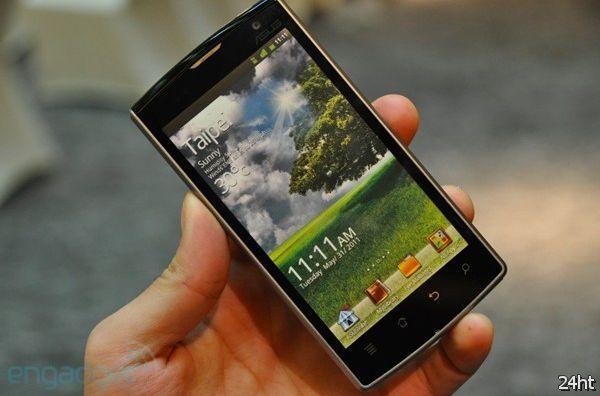 Asus Padfone основан на базе Tegra 3 и выйдет в начале 2012 года