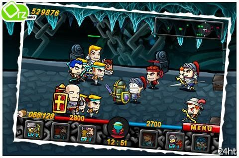 Battleground v1.0.4 - Тактическая RTS