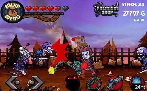 Colosseum Heroes v1.0.1- сайдскроллер стиля экшн с элементами RPG