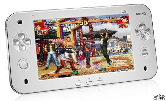 JXD S7100 - игровая консоль с 7-дюймовым экраном и Android 2.2 (4 фото + видео)