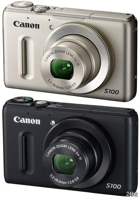 Камера Canon PowerShot S100 выйдет на рынок 8 декабря