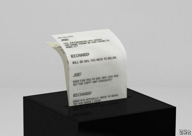 Микропринтер для электронной почты (3 фото)