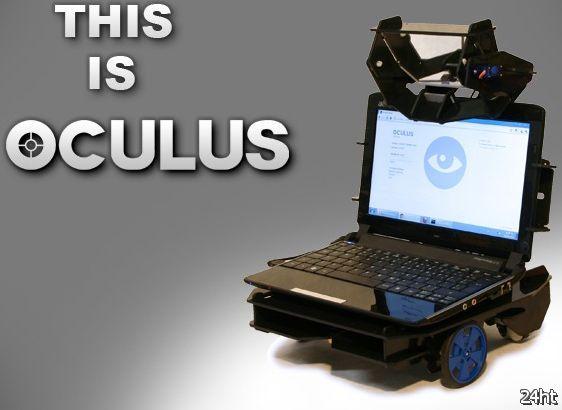 Oculus - робот телеприсутствия (видео)