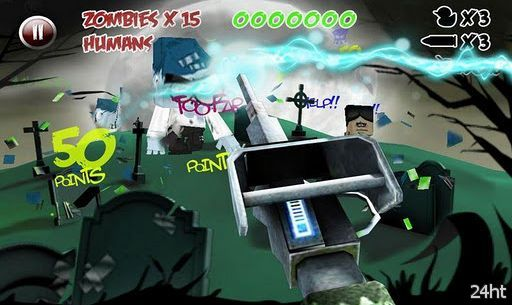 Paper Zombie v1.2  - Бумажные зомби
