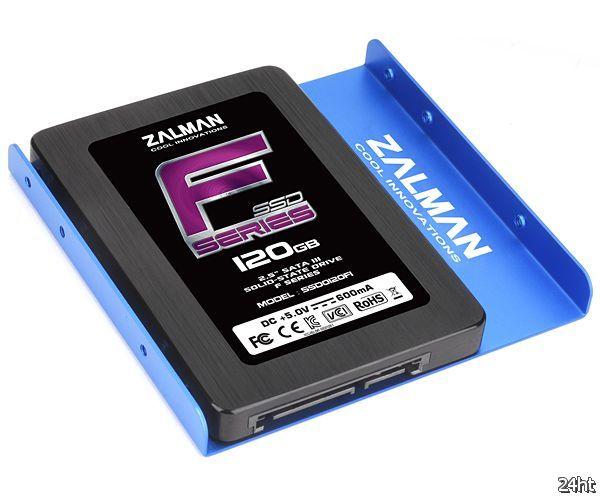 SSD-накопители серии ZALMAN F1 уже в продаже