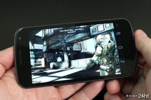 Samsung Galaxy Nexus - в России