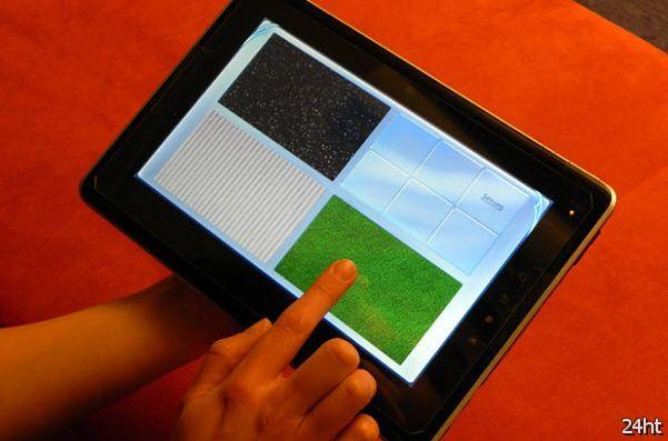 Тачскрины смогут передавать текстуру материалов