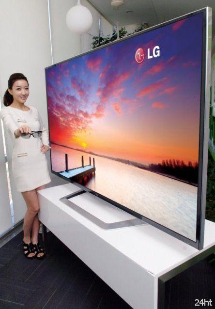 """""""Ultra definition"""" - 84-дюймовый 3D-телевизор от LG (3 фото)"""