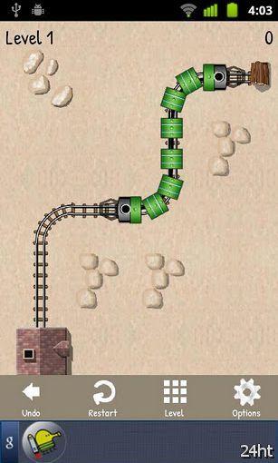 Unblock Train v1.3- прекрасная головоломка
