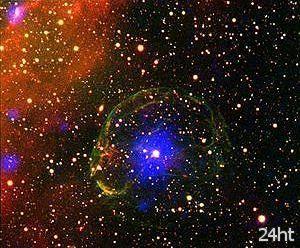 В остатках сверхновой найден странный пульсар