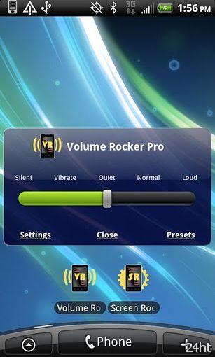 Volume Rocker Pro 1.5 - Простой и быстрый выбор одного из пяти профилей