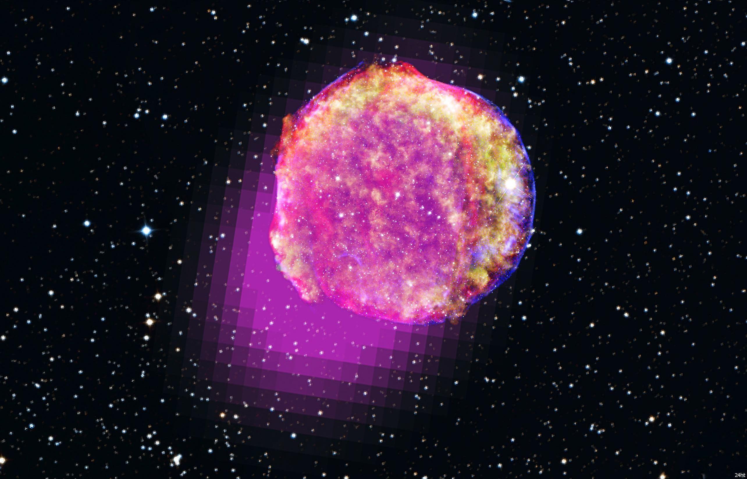 Взрыв звезды поможет решить космическую тайну