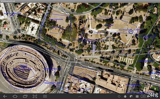 WikiMapia for Droid 1.6 - Программа позволяет пользоваться сервисом wikimapia