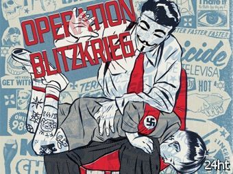 Anonymous объявили войну неонацистам