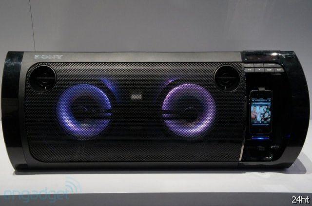 Аудиосистема Sony Muteki RDH-GTK33iP (17 фото + видео)