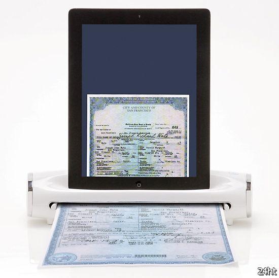 Док-сканер для iPad (видео)