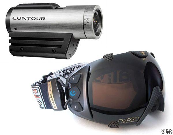 Горнолыжные очки в качестве видоискателя для камеры (2 фото)