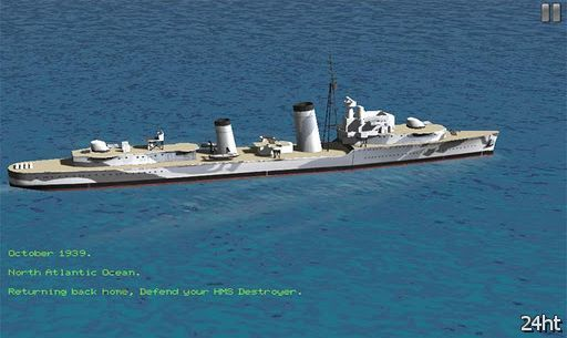HMS Destroyer 1.0 - управляем фрегатом на 2-й мировой войне