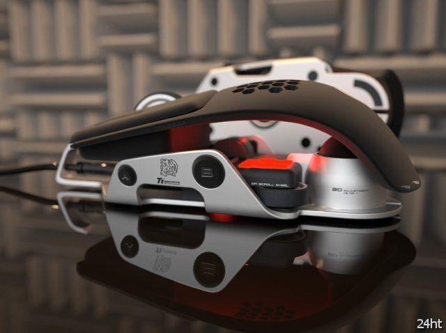 Level 10 M - геймерская мышка от Thermaltake и BMW (3 фото)