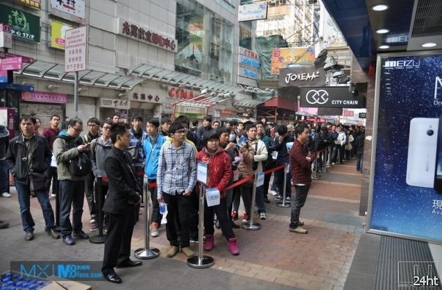 Meizu MX наконец-то поступил в продажу