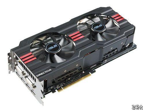 Новая видеокарта ASUS Radeon HD 7970 (HD7970-DC2-3GD5)