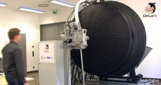 OrcaM - сфера для создания цифровой копии предмета (видео)