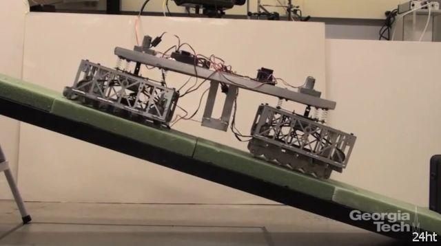 Ползающий робот Scalybot 2 (видео)