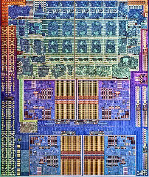 Представлен снимок кристалла APU AMD Trinity