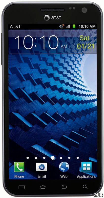 Samsung Galaxy S II Skyrocket HD – LTE смартфон с HD дисплеем