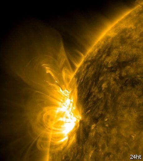Земля подверглась самой мощной солнечной атаке