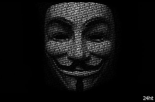 Хакеры из Anonymous сделали предупреждение властям Украины