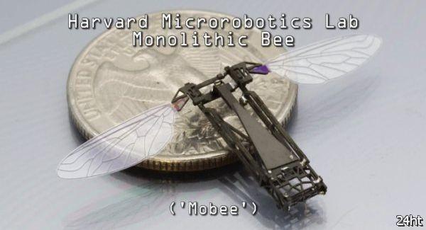 Микроробот-пчела из SEAS