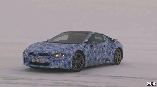 Тест-драйв прототипа BMW i8 (видео)
