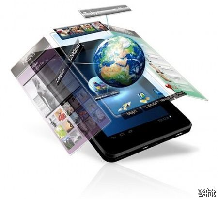 В ходе MWC 2012 ViewSonic покажет планшеты E100, G70 и P100