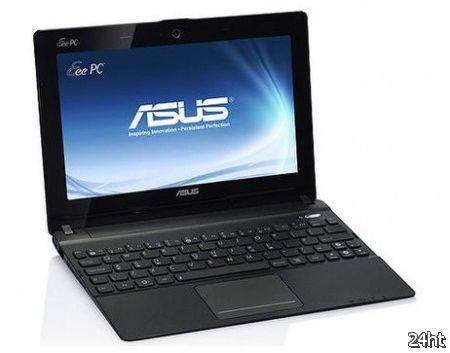 ASUS представит на CeBIT пять 10-дюймовых нетбуков Eee PC